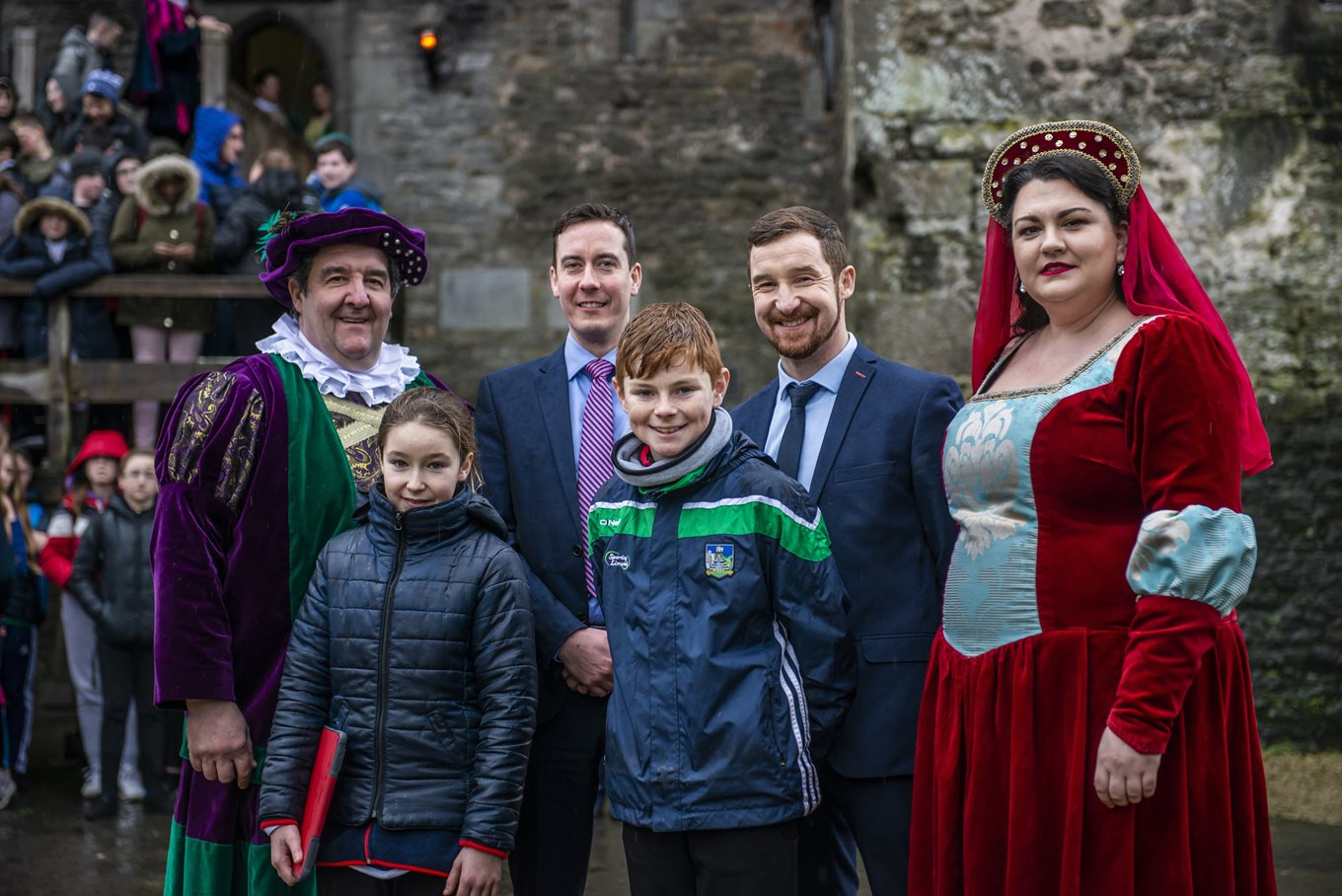 New Junior Cycle Tour Launched at Bunratty Castle and Folk Park