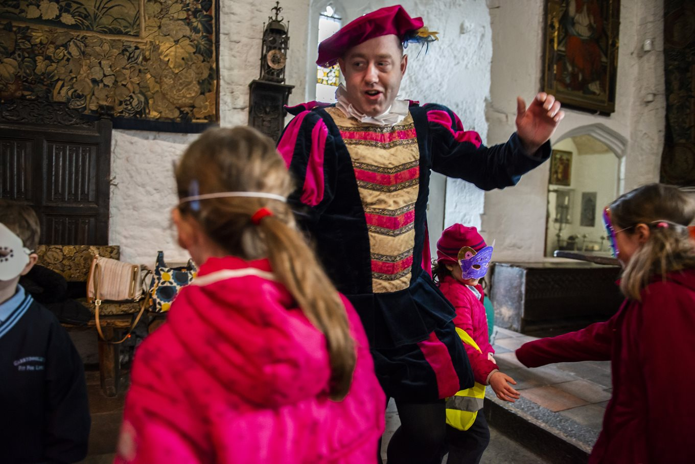 Educational Music Workshops with the World Famous Bunratty Castle Entertainers