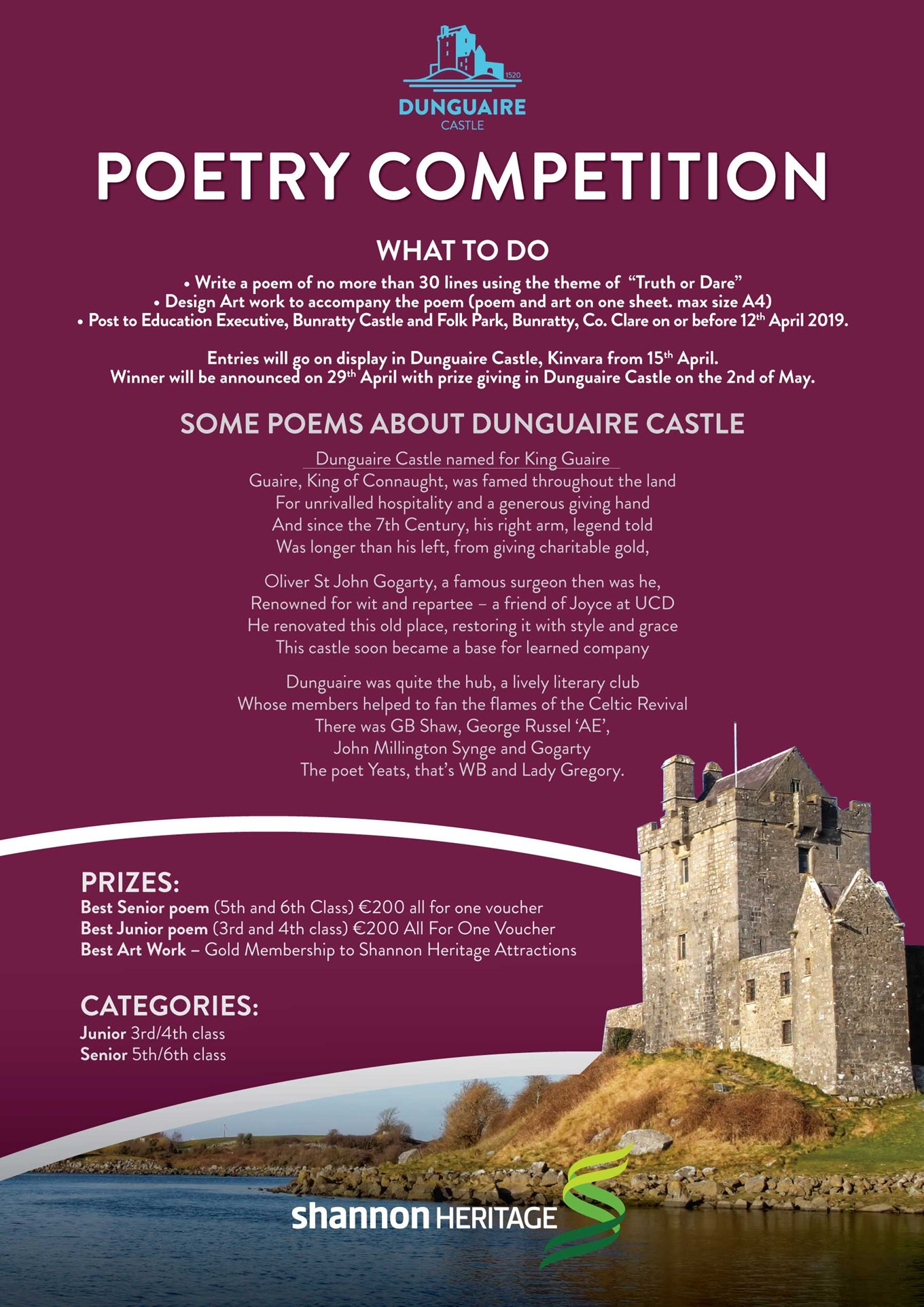 Poetry Competition April 2019