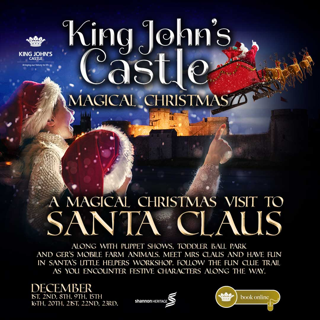 A Magical Christmas at King John's Castle