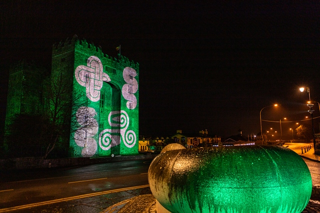 Shannon Group buildings light up Green for St Patrick's Day